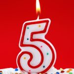 5. Yıl Kutlu Olsun!
